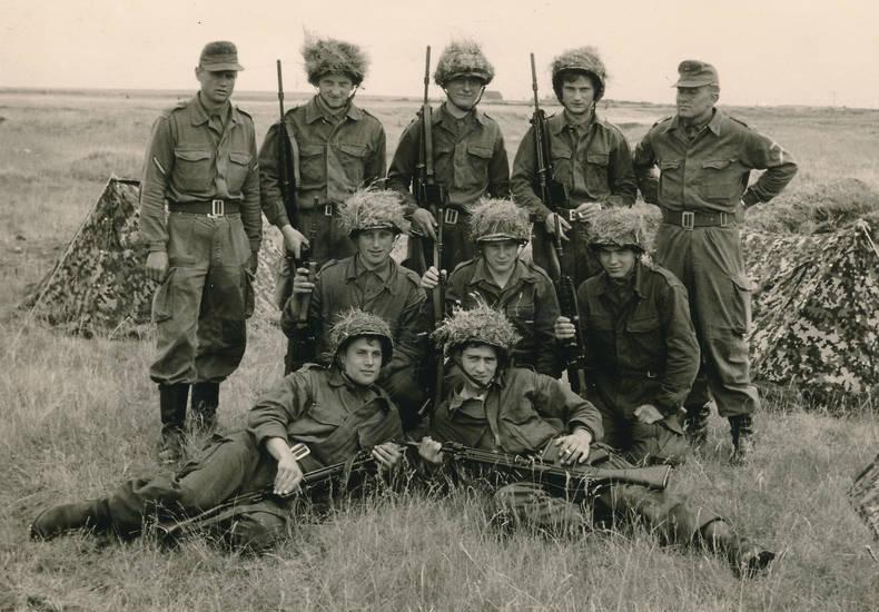gefecht, gefechtspause, Gewehr, pause, soldat, Übung, Uniform