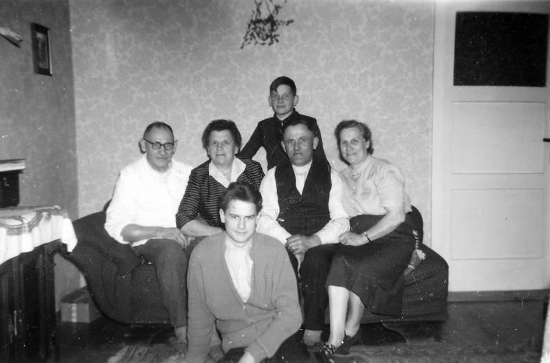 chaiselounge, familie, Familientreffen, Treffen, wohnzimmer