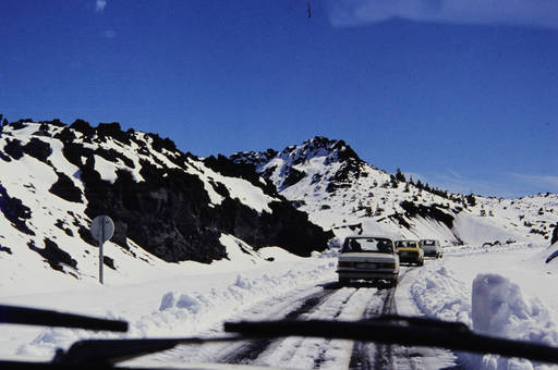 Schnee auf Teneriffa