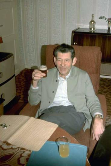Bier, Glas, Prost, sessel, vater