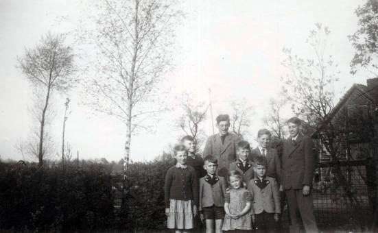 Großfamilie mit 9 Kindern