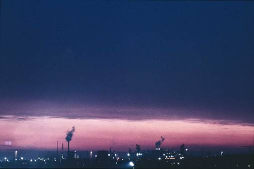 Duisburg-Rheinhausen am Abend
