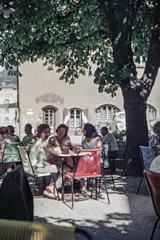 Straßencafe in Kufstein