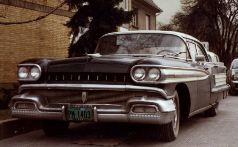 Amerikaner, auto, KFZ, Oldsmobile, PKW