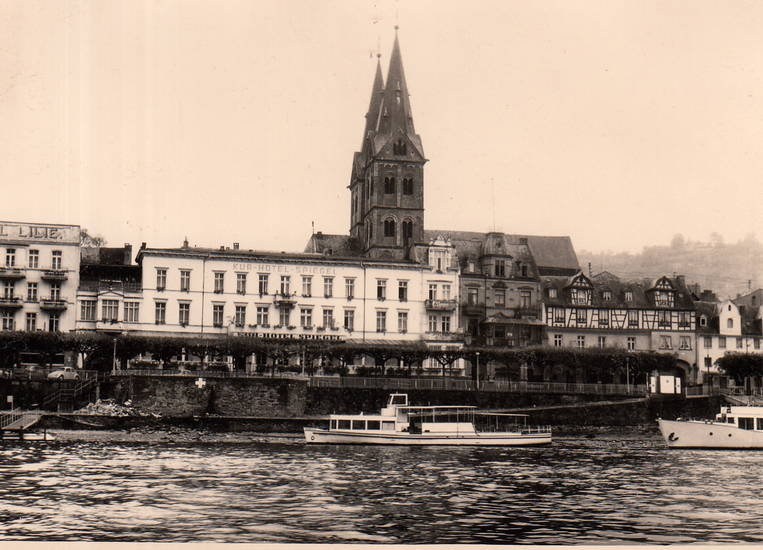 Boppard, kirche, Kurhotel, Rhein, schiff