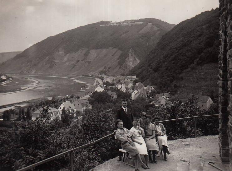 ausflug, brodenbach, Ehrenmal, familie