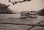 Rheindampfer voraus