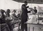 Auf dem Dampfer Hindenburg