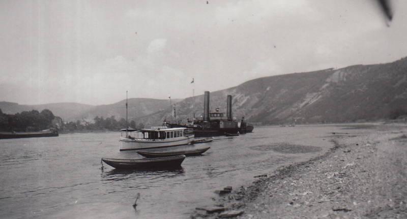 boot, Rhein, Rheindampfer, schiff