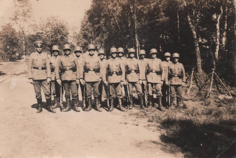Gewehr, soldat, Übung, Uniform