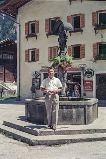 Agfa, Automat, Brunnen, Österreich, Souvenirgeschäft, Tirol, urlaub, Urlaubsreise