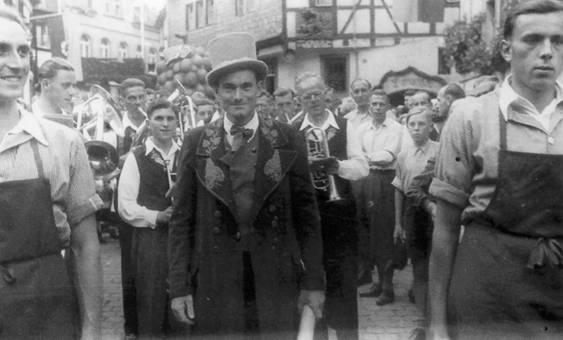 Moselfest 1950 Winningen