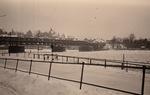 Schnee am Rhein
