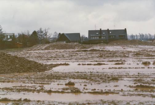 Vor Baubeginn in Strümp
