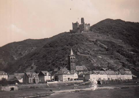 Wellmich mit Burg Maus