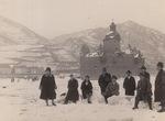 Burg Pfalzgrafenstei im Schnee