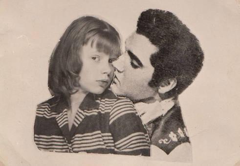Traumfoto mit Elvis
