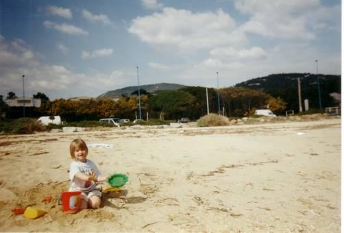 Meine Tochter vor 18 Jahren