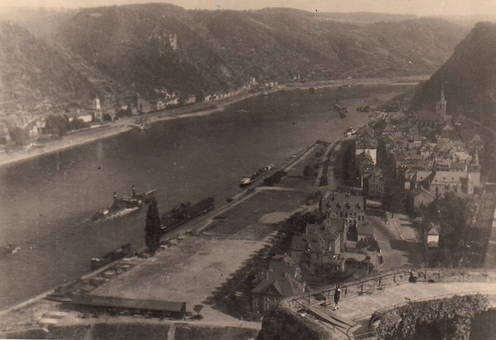 Sankt Goar am Rhein