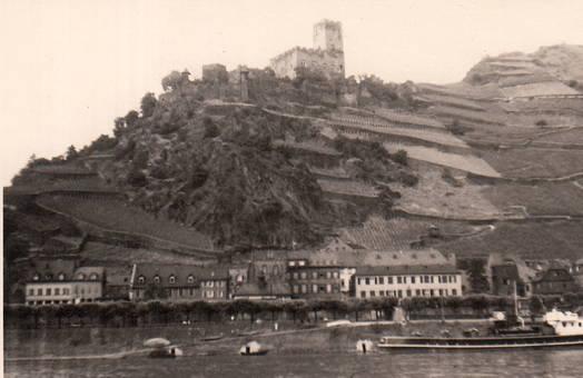 Kaub mit der Burg Gutenfels