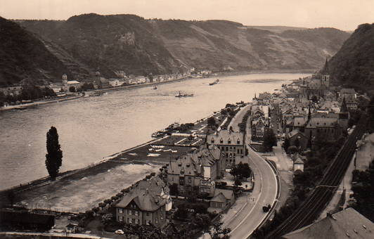 Am Rhein in St. Goar