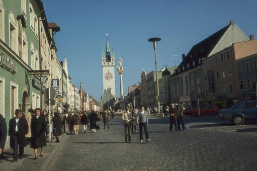 Stadtplatz in Straubing