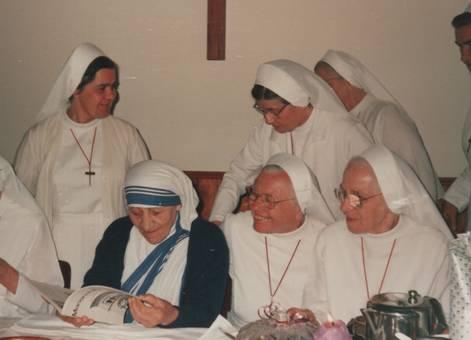 Besuch von Mutter Teresa