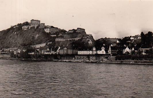 Am Rhein vor Ehrenbreitstein