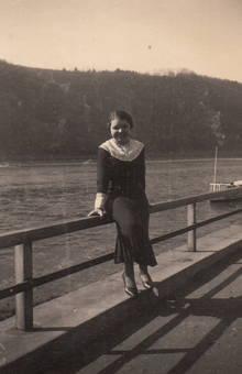 Sitzgelegenheit am Rhein