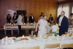 Zu Tisch bei der Hochzeit