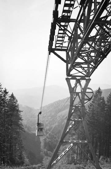 Alpen, Berge, Gondel, Schauinsland-Bahn, schwarzwald, Seilbahn, Sessellift