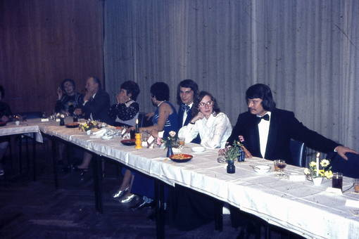 Silberhochzeitsgäste