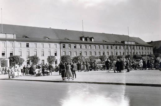 Auf dem Platz