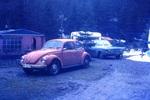 Autos auf dem Campingplatz