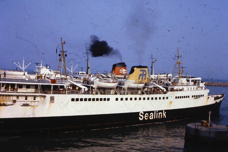 Dover, fähre, sealink, sealink ferry