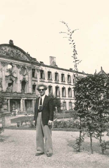 Krawatte, kurfürstliches palais, mode, sonnenbrille
