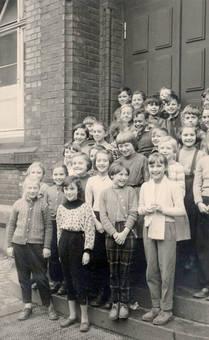 Volksschulklasse 1958