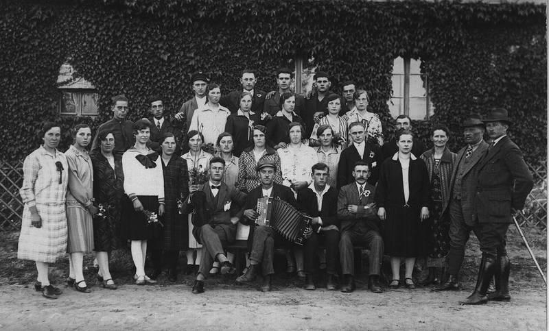 Akkordeon, angestellte, familie, Gutshof, halberstadt, mode, quetschkommode