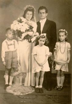 Hochzeitsfoto 1948