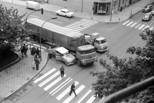 Unfall in Düsseldorf