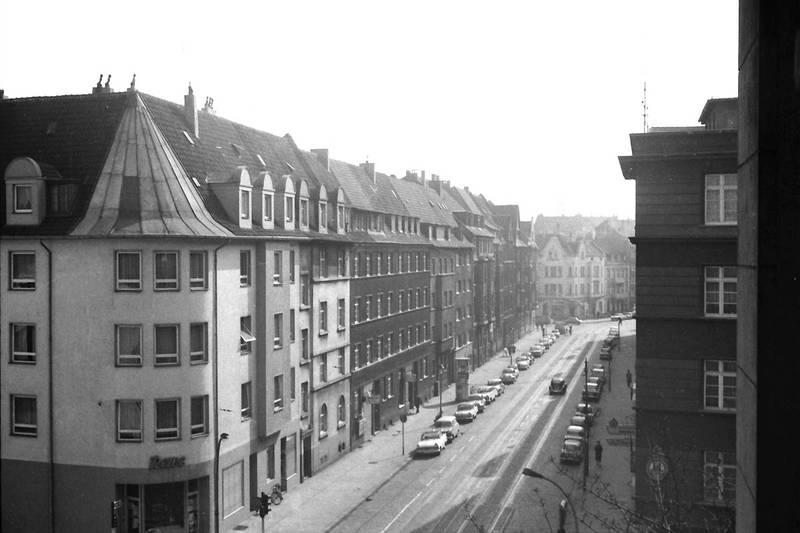 auto, bruchstraße, cranachstraße, Düsseldorf, KFZ, PKW, straße