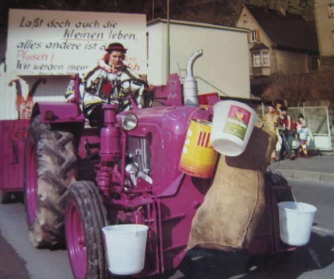 Fasching, fastnacht, goarshausen, karneval, traktor