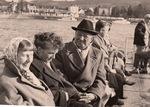 Passagier auf dem Rheinschiff