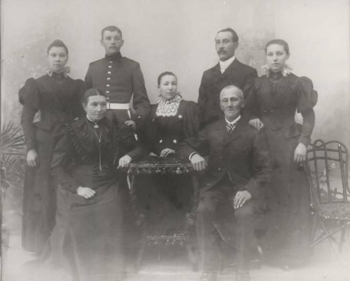 gruppenfoto, Jubiläum, Kriegsjahre, Rheinbilder, silberhochzeit, speyer