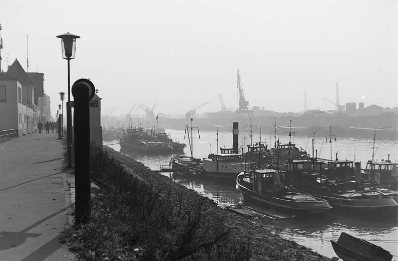 boot, Duisburg, fluss, Hafen, Ruhrort, schiff