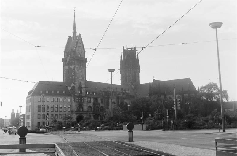 Duisburg, kirche, Rathaus, salvatorkirche