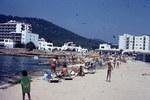 Strand Sant Antoni Abat Ibiza