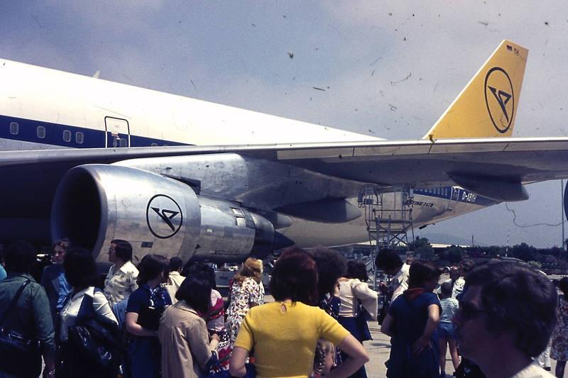 B-747-230 B, Boeing 7478, condor, D-ABYH, Flugfeld, Flughafen, flugzeug, ibiza, max, urlaub, Urlaubsreise