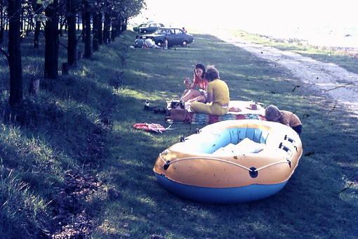 Picknick am Rhein