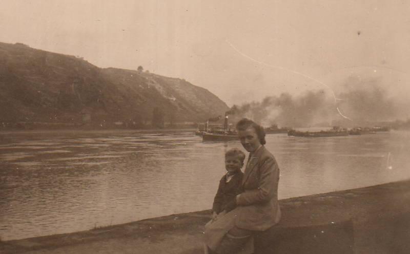 ausflug, fluss, Kindheit, Rhein, Rheinufer, schiff